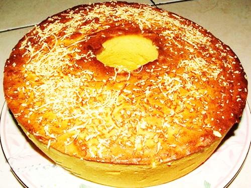 Bahan Cake Tape Keju
